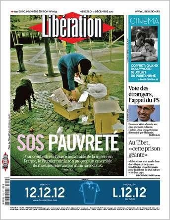 Libération Mercredi 12 Décembre 2012