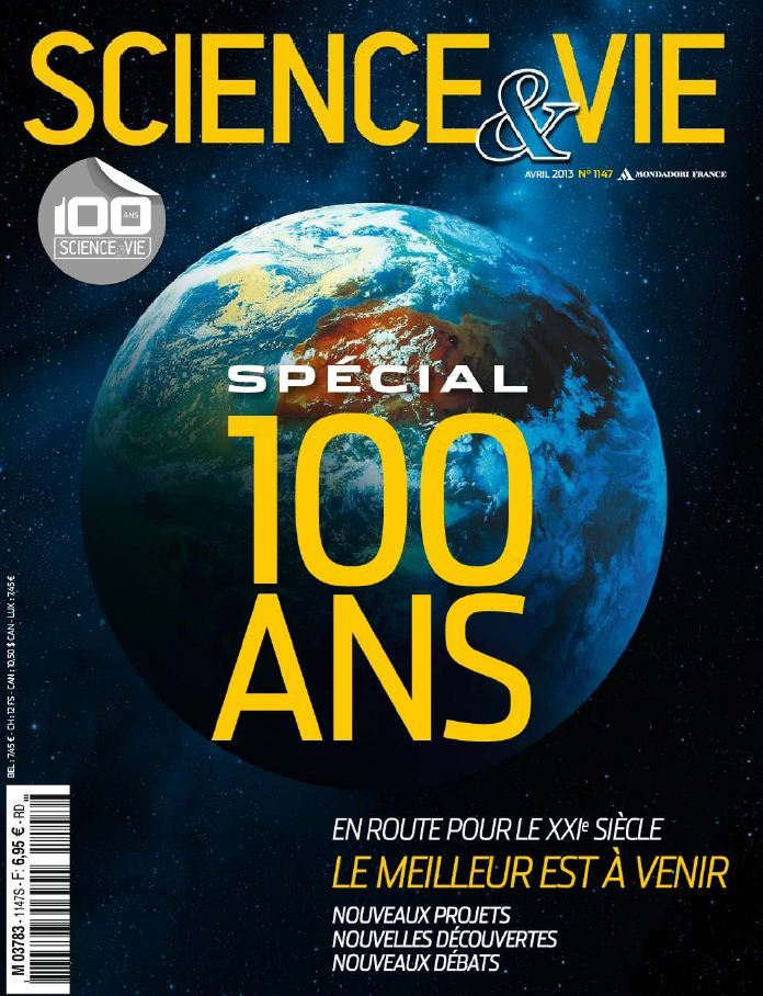 Science & Vie N°1147 Avril 2013