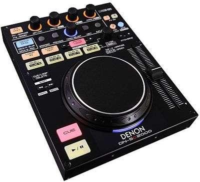 DN-SC2000 - קונטרולר DJ קומפקטי ובר-השגה מ-Denon DJ