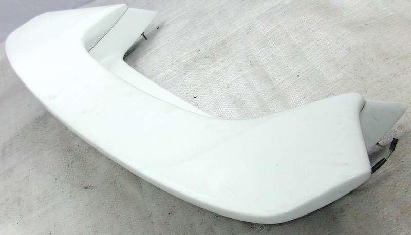 JDM Subaru Impreza GDB WRX 2-piece rear wing spoiler white