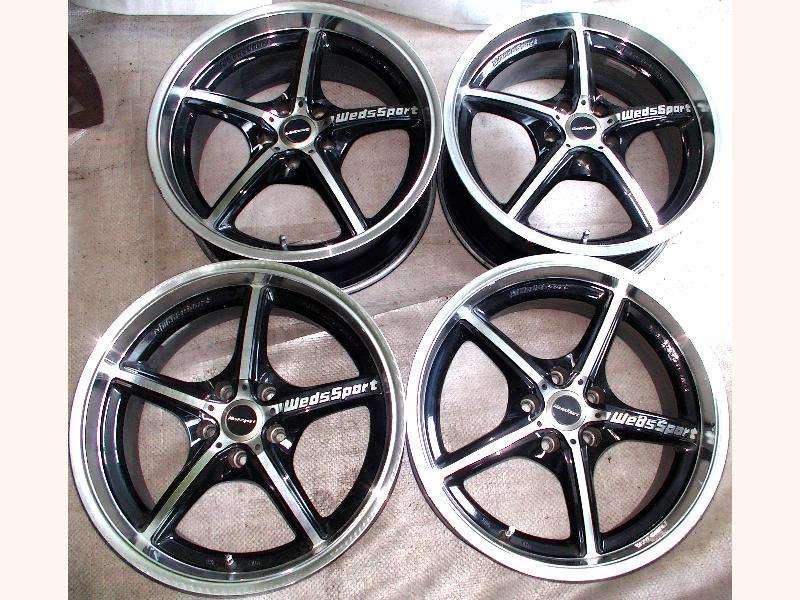 WEDS RS-005NA alloy wheels rims 18 8J 5x120 BMW E36 E46 E39 M3 M