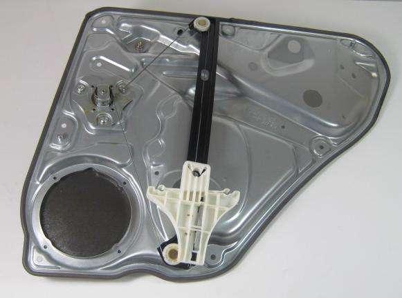 Genuine vw passat b5 b5 5 saloon left rear manual window for 2001 volkswagen passat window regulator