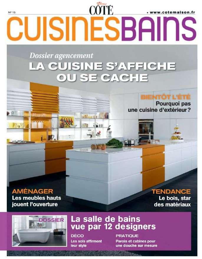 Vivre Côté Cuisines & Bains N°15 2013
