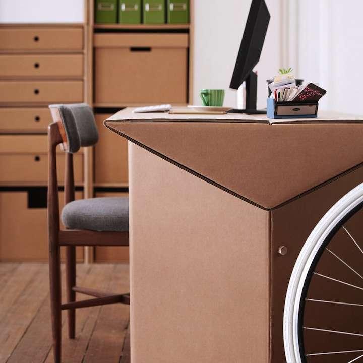 karton02 - Decoración Eco Chic: Muebles hechos de cartón