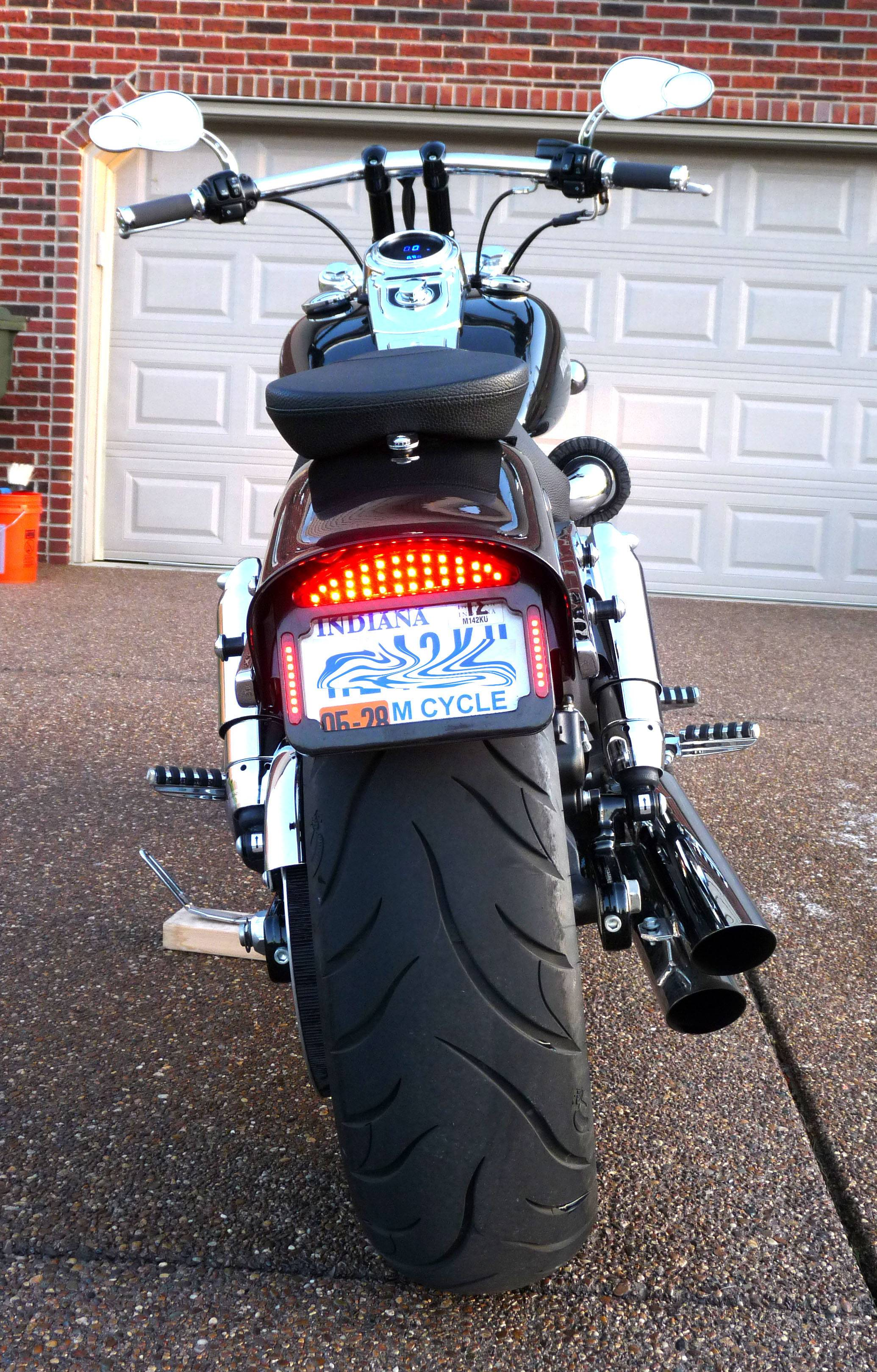 Tribar Led Tailight Alternatives Harley Davidson Forums